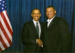 Vince and President Obama